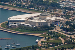 Aquarium Chicago de John G. Shedd Photographie stock libre de droits