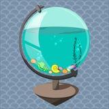 Aquarium dans un globe Photographie stock libre de droits
