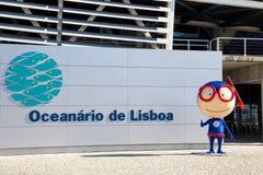Aquarium de Lisbonne Photo stock