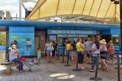 Aquarium de New York Photo stock