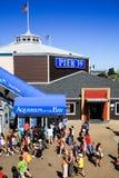 Aquarium de San Francisco Pier 39 de la baie Images libres de droits