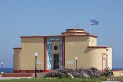 Aquarium in de stad van Rhodos Stock Afbeelding