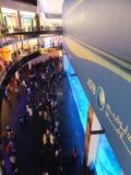 Aquarium at Dubai Mall in the UAE Stock Photo