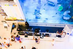 Aquarium Dubai Stock Photos