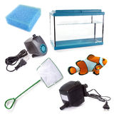 Aquarium equipment Royalty Free Stock Photos