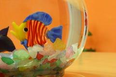 Aquarium - Fake fish. Stock Photography