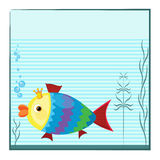 Aquarium with fish Royalty Free Stock Photo