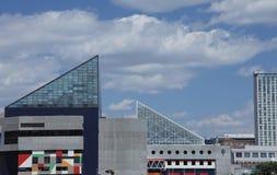 Aquarium national à Baltimore, le Maryland Photos libres de droits