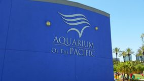 Aquarium of The Pacific. Entrance to the Aquarium of The Pacific in Long Beach California Royalty Free Stock Photography