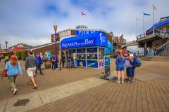 Aquarium Pier 39 Stock Image