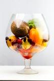 Aquarium sain de nourriture Photographie stock libre de droits