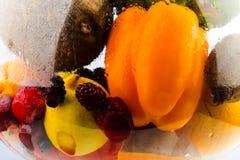 Aquarium sain de nourriture Photos stock