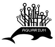 Aquarium tech Royalty Free Stock Image