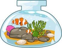 Aquarium vector Stock Image