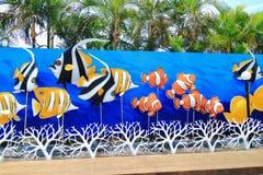 Aquarium view Royalty Free Stock Images