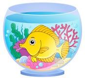 Aquariumthemabild 2 Stockfotografie