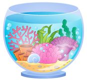 Aquariumthemabild 4 Stockfotografie