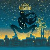 Aquarius royalty ilustracja