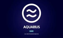 Aquarius Astrology Horoscope Zodiac Concept Stock Photo