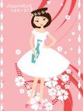 Aquarius bride Stock Photo