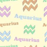 Aquarius Libra Stock Image