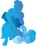 Aquarius Pour Royalty Free Stock Photo