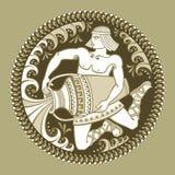 Aquarius, segni di zodiaco Fotografia Stock Libera da Diritti