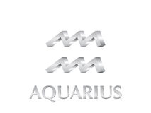 Aquarius sign Royalty Free Stock Images