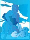 Aquarius Sky High Royalty Free Stock Image