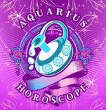 Aquarius zodiac sign Stock Photo