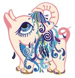 aquarius zodiak Obrazy Royalty Free