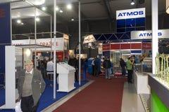 AquaTherm 2012 i Prague Arkivfoton
