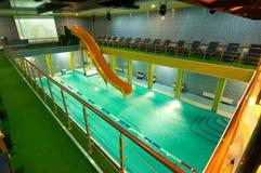 Aquatic center Royalty Free Stock Image