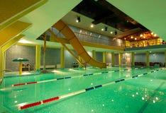 Aquatic center Stock Photo