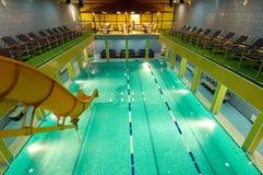 Aquatic center Stock Image