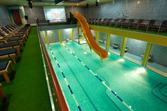 Aquatic center Royalty Free Stock Photo