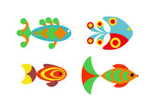 Aquatic fish wildlife aquarium underwater nature tropical seafood animal vector. Stock Photos