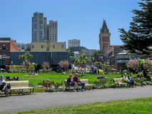 Aquatic Park in San Francisco royalty free stock image