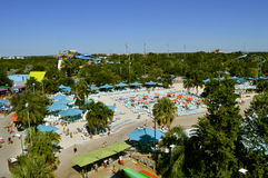 Aquatica theme park in Orlando. An aerial view of Aquatica theme park in Orlando Royalty Free Stock Images