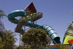 Aquatica Waterpark Amusement in the Desert Stock Images