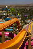 Aquatica Waterpark Amusement in the Desert Royalty Free Stock Photos