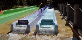 Aquatica wody parka Breakaway spadków przygody obruszenia Fotografia Royalty Free