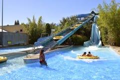 Aquatica wody parka HooRoo bieg przygody obruszenie Zdjęcia Stock