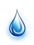 Aquaticq drop Royalty Free Stock Photo