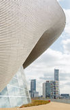 Aquatics Centre, Stratford, London Stock Images