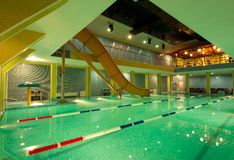 Aquatisch centrum stock foto
