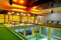 Aquatisch centrum stock afbeeldingen