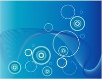 Aquatische abstracte achtergrond vector illustratie