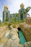 Aquaventure - Atlantis Water Park Royalty Free Stock Photo