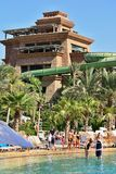 Aquaventure Atlantis waterpark Στοκ Εικόνα